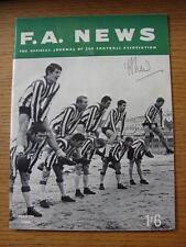 Mar-1969 FA News: The Official Journal Of The Football Association, Featured Con