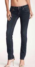 Rock Revival Gia Straight Leg Dark Blue Wash Size 25 NWT