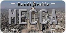 Mecca Saudi Arabia Aluminum Novelty Car Tag License Plate P02