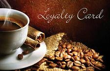 100 x Loyalty Reward Cards Coffee Shop Cafe Bistro Wine Bar Pubs & FREEPOST!