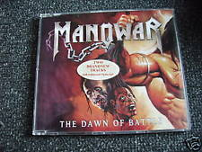 Manowar-The Dawn of Battle Maxi CD-Made in Germany