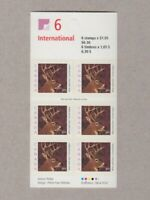 WHITE-TAILED DEER = Booklet of 6 stamps LF, SPECKLED Canada 2000 #1881ai MNH