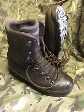Brown Cold Wet Weather Haix Goretex Boots!excellent/hardly used! Size 9 Medium