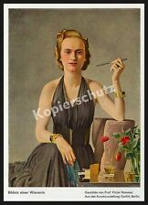 Victor Hammer Dame Eleganz Mode Vogue Luxus Schmuck Art Deco Bohème Wien 1939!!