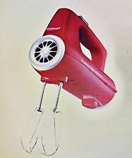 Cuisinart CHM-3R Electronic Hand Mixer 3-Speed Red