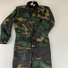 Vintage Liberty Insulated Coveralls Youth Boys Size 16 Hunting Camo Overalls New
