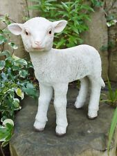 Sheep garden ornament, Lamb outdoor or indoor figurine