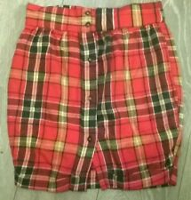 ladies trendy sexy mini check tartan Rah skirt from Motel Rocks Size 8-10