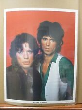 Vintage Poster Jagger & Richards The Rolling Stones English rock band Inv#352