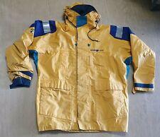 USED Genuine Henri Lloyd Yellow Wet Weather Jacket Size Medium UK #1