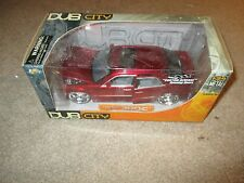 Dub City Chrysler 300C Red Die-Cast 1/24 Scale MISB Jada Toys 2005 See My Store
