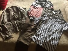 Kunstlederjacke Primark Gr 40 Pullover Promod Langarmshirts H&M Und Stiefelhose