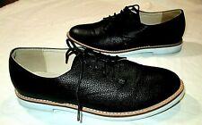 ASOS London Rebel Black Lace Up Oxfords Sz 8.5-9 EUC