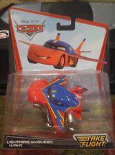 NEW Disney Pixar Cars Take Flight Lightning McQueen Hawk 1:55 Diecast Car - VHTF