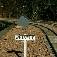 G scale whistle sign 4 pack