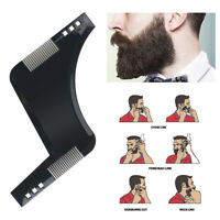 Beard Shaping Styling Template Comb Transparent Combs Beauty Tool Hair Beard  AI