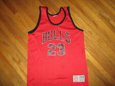vtg 1990s CHICAGO BULLS MICHAEL JORDAN JERSEY Basketball NBA Youth Large 14-16