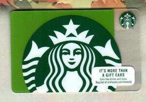 STARBUCKS Green Siren 2017 Gift Card ( $0 )