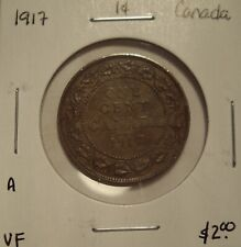 A Canada George V 1917 Large Cent - VF