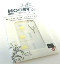 Nano SIM Card to MICRO Standard SIM Adapter converter SET For iPhone Samsung