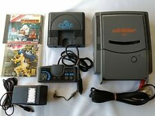 NEC PC Engine SUPER CD-ROM2 Unit System and Coregrafx Console set tested-H-