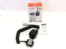 Genuine Canon OC-E3 Off Camera TTL Shoe Cord - BRAND NEW!