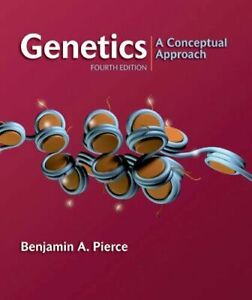 Genetics: A Conceptual Approach, 4th Edition by Pierce, Benjamin A.