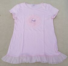 ZARA Kids Girls Pastel Pink Short Sleeve Circle Sequin T Shirt 13 - 14 Years