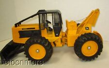 VINTAGE ERTL JOHN DEERE LOG SKIDDER TRACTOR No 590  FARM TRUCK TOY 16""