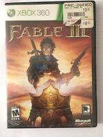 Fable III (Microsoft Xbox 360, 2010) No Manual Tested & Working