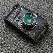 Funper VOIGTLANDER Bessa R Camera Half Case Genuine Leather Handmade Cover New