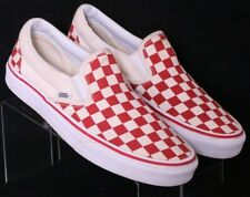 Vans Off The Wall 721278 Old Skool Red Skateboard Shoes Men's US 7 Women's 8.5