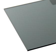 High Impact UV2 1220 x 2440 x 6mm polycarbonate Dark Grey Tinted Sheet Windows