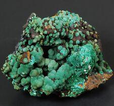 Botryoidal Malachite on Goethite