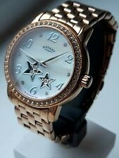 Rotary LB03736/41 Ladies automatic skeleton watch