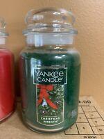 Yankee Candle Large 22 oz. Jar Candle Christmas Wreath