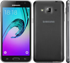 Neuf Noir Samsung Galaxy J3 (6) 2016 8 Go Débloqué Slim Emballage Scellé Téléphone