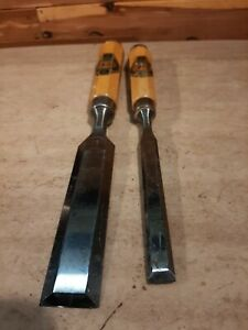 Two Cherries  Chisels 26mm and 12mm both in nice condition Ulmia tools fine set