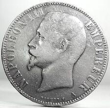France (Napoleon III) 5 Francs 1855-A