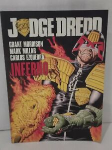 Judge Dredd: Inferno by Grant Morrison Mark Millar Trade Paperback TPB 2000 AD