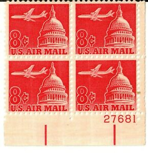 Scott C64 8¢ Jet over Capitol Dome MNH Free shipping in USA!