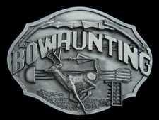 Detailed Very Nice Bowhunting Belt Buckle Buckles