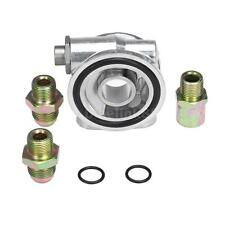 Oil Cooler Filter Forge Sandwich Plate Thermostat Adaptor for EA888 Engine C0M1