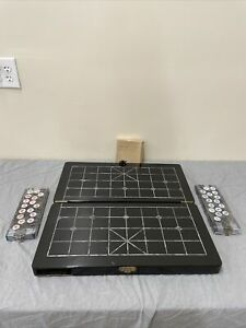 Handmade Wood Chess/Game Board Inlaid Mother of Pearl 20 x 22 x 1.5 FS Charity