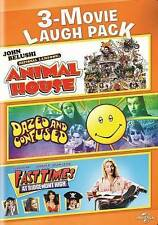 3-MOVIE LAUGH PACK: ANIMAL HOUSE/DAZED AND CONFUSED/FAST TIMES AT RIDGEMONT HIGH