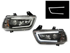 11-14 Dodge Charger Factory Xenon HID D3S LED Light Bar DRL Projector Headlights