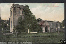 Lincolnshire Postcard - Old Church, Skegness    RS218