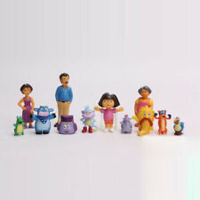 Dora the Explorer Cartoon 12Pcs Movie Character Action Figure Kids Toy Doll Gift