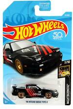 2018 Hot Wheels #91 Nightburnerz '96 Nissan 180SX Type X Advan