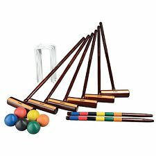 Expert Croquet, Set 2-6 Players, Portable Carry Bag Storage, Fun & Leisure Games